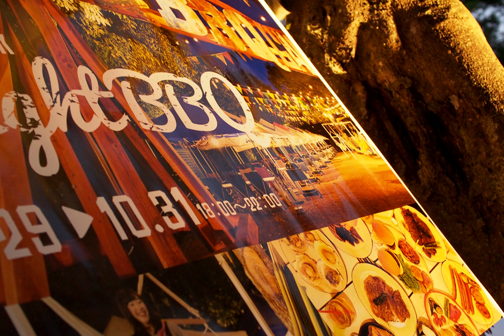 OLYMPUS DIGITAL CAMERA 夜の看板 単焦点レンズで撮影