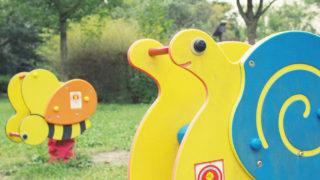 第101話 公園にある土台がバネになっている遊具