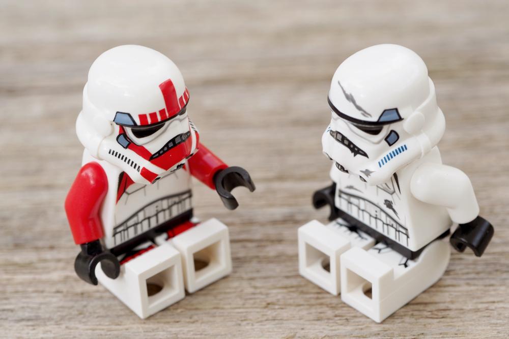 LEGO(レゴ) STARWARS 会話シーン