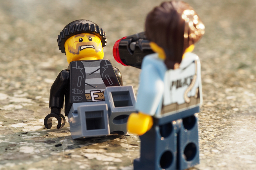 LEGO(レゴ) ドロボウと警察 ブンドド