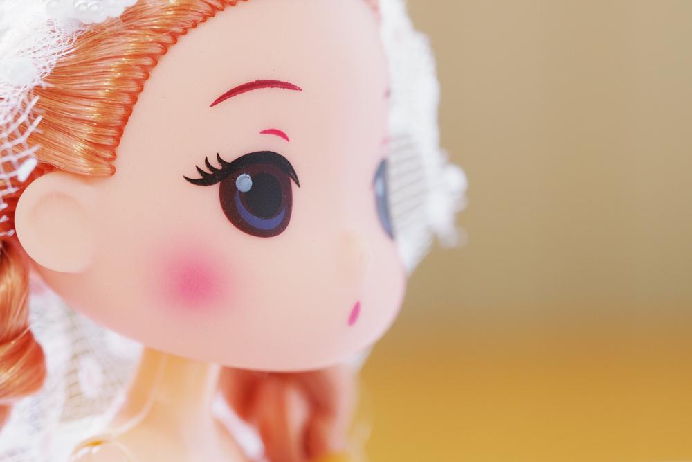 UFOキャッチャーで取ったドール(人形) うちのこかわいい