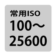 常用ISO感度 画像