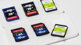 超便利!100円ショップのメモリーカードケース