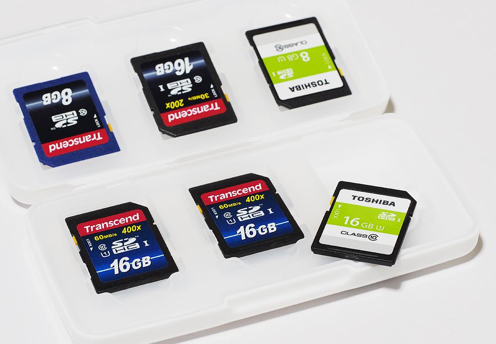 超便利!100円ショップのメモリーカードケース 画像
