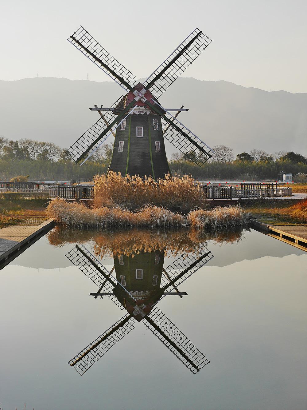 アクアワールド水郷パークセンター 風車