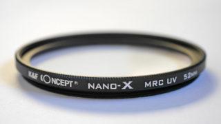 K&F Concept「MRC UV フィルター Nano-X」レビュー