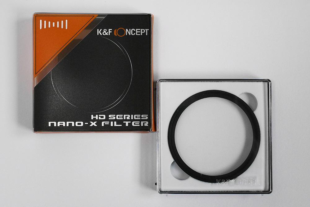 MRC UV フィルター Nano-X パッケージ