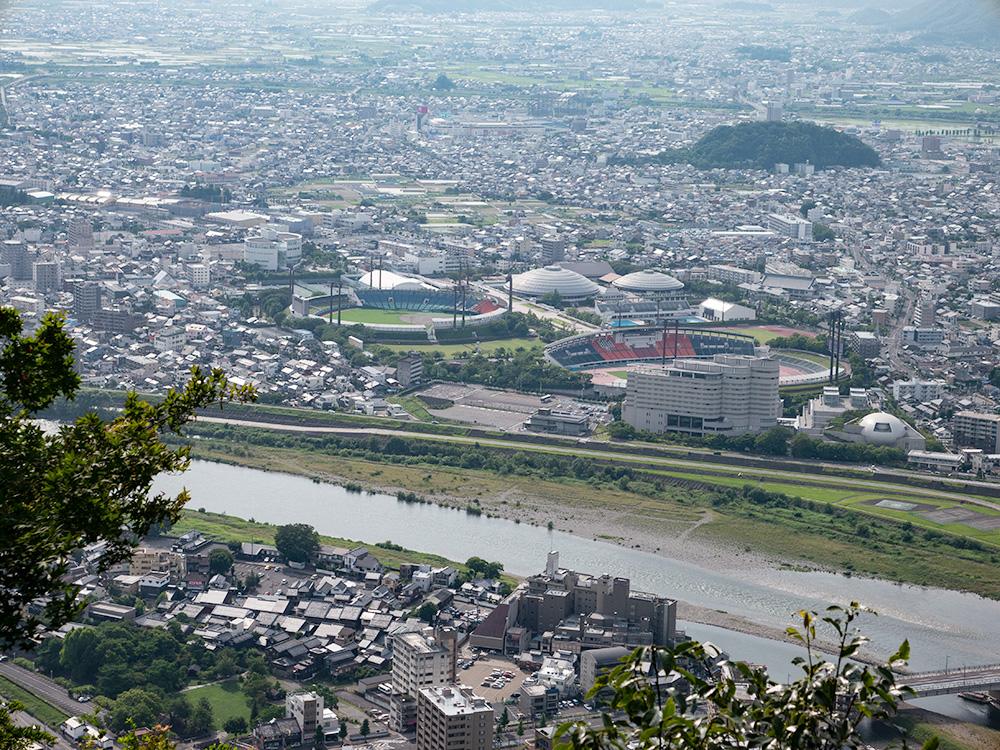 金華山からの眺め