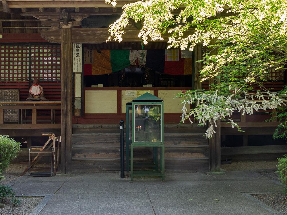朝倉山真禅院 観音堂