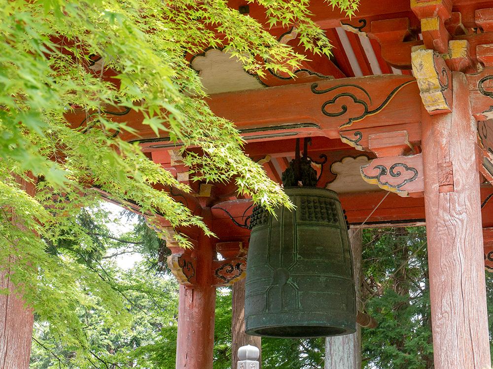 朝倉山真禅院 梵鐘