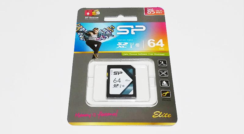Amazon限定「シリコンパワー SDカード」