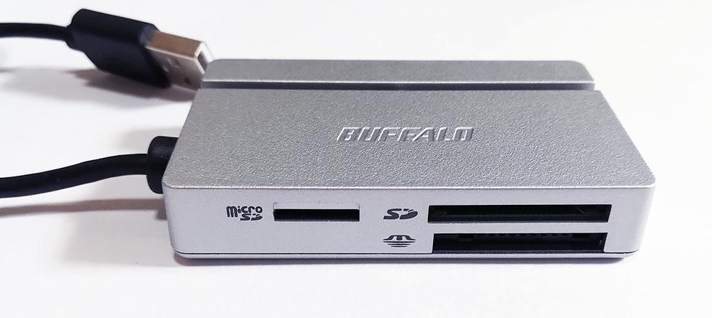 バッファロー「BSCR100U2」シリーズ 機能