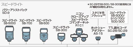 D5500のシステムチャート2